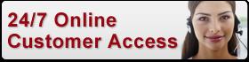 24/7 Customer Access button