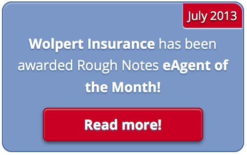Rough Notes eAgent of the Month button